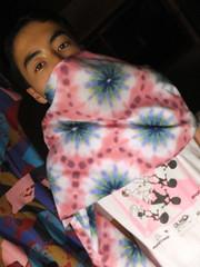itajim tribee shibori psychedelica (asiadyer) Tags: japan japanese symmetry textile sacred tiedye dye dyeing psychedelic dyed shibori psychedelica sacredgeometry sarashi japanetsy shiboripsychedelic