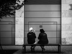 Coffee Love (SchillingD) Tags: life street people blackandwhite streetart black lumix blackwhite streetphotography 20mm dortmund streetshot streetphotografie streetfotography streetfotografie gf7