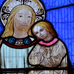 Doddington, St Peter's church, window detail thumbnail