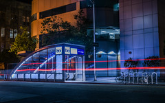 19th street station (pbo31) Tags: california street city urban black color station night dark subway oakland spring nikon downtown traffic bart may bayarea eastbay masstransit 19th alamedacounty 2016 lightstream boury pbo31 d810