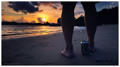 Sunset Araru, Brazil (Rhannel Alaba) Tags: sunset brazil beach sunrise samsung pido alaba aratu note4 rhannel
