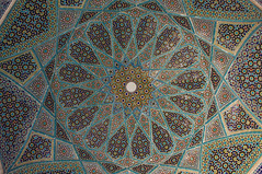 Hafezieh, the grave of Hafez (davidemauro) Tags: iran geometry shiraz hafez