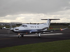 M-DRIL Pilatus PC-12 Pilatus Center Ltd (Aircaft @ Gloucestershire Airport By James) Tags: james airport center gloucestershire pilatus pc12 ltd lloyds egbj mdril