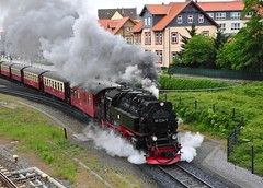 Wernigerode Harz Germany 18th May 2016 (loose_grip_99) Tags: railroad train germany deutschland tank may engine rail railway trains steam 99 transportation locomotive railways harz narrowgauge wernigerode metre 2016 hsb dampf schmalspur harzer bahnen 72340 gassteam 2102t