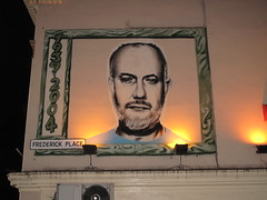 John Peel graffiti mural, Brighton (duncan) Tags: streetart graffiti mural brighton johnpeel