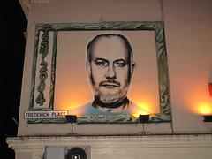 John Peel graffiti mural, Brighton (duncan) Tags: streetart graffiti mural brighton johnpeel