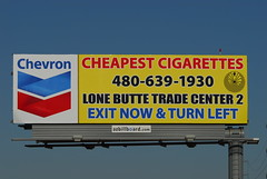 Lone Butte Trade Center billboard - Santan Freeway Loop 202, Chandler, AZ (azbillboard) Tags: arizona phoenix advertising traffic diesel az billboard gas 101 freeway billboards gilbert ooh i10 cigarettes chandler chevron mesa 202 tempe ahwatukee santan cheapest maricopa outofhome loop101 outdooradvertising queencreek loop202 kyrene eastvalley gilariverindiancommunity lonebutte 85226 onsiteinsite santanfreeway pricefreeway azbillboard onaukmor lonebuttetradecenter