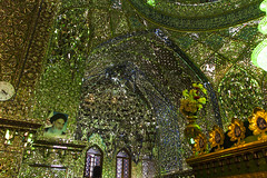 Khomeini (davidemauro) Tags: iran mosque shiraz khomeini