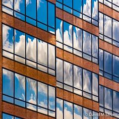 Saint Paul Skyscrapers (David M Strom) Tags: abstract lines architecture minimal saintpaul davidstrom olympusomdem5