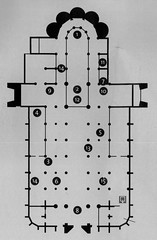 Antwerp Cathedral Plan (demeeschter) Tags: church architecture cathedral belgium religion plan antwerp