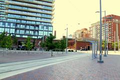 Cherry Street Streetcar Loop (wyliepoon) Tags: street light cherry community loop trolley ttc tram rail transit streetcar lrt development downtowntoronto westdonlands canarydistrict