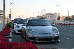 Porsche 997 GT3 RS MkII (R_Simmerman Photography) Tags: marina mall grey hotel spring dubai boulevard walk garage united parking main uae entrance emirates khalifa arab porsche saudi kuwait abu dhabi rs qatar burj supercars valet combo mkii gt3 997 jbr 2016 sportcars dubaicars hypercars carsofdubai