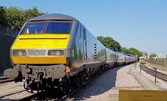 82309 (R~P~M) Tags: uk greatbritain england london train coach carriage unitedkingdom railway depot wembley dvt chilternrailways drivingtrailer