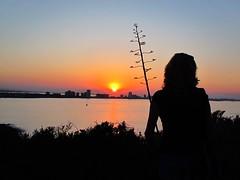 La Manga del Mar Menor Cartagena (Ruben Juan) Tags: sunset espaa canon spain manga murcia silueta marmenor cartagena ocaso g12 powershot1