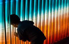 Into the light (shashin62) Tags: light colour festival sydney vivid australia nsw operahouse lunarpark vivid2016