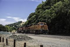8632 at Glen Frazer (lennycarl08) Tags: california railroad trains eastbay bnsf burlingtonnorthernsantafe burlingtonnorthernsantaferailroad stocktonsub