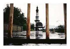 Fedele #3 (Lalangue.) Tags: analog nikonfm kodacolor consonno milano pioggia giornodipioggia cita ghosttown desolate