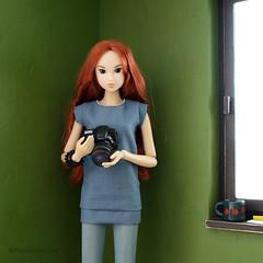new camera (MINIMAGINE) Tags: minicamera momokodoll playscale dolldiorama