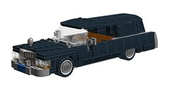 Cadillac Hearse (RS 1990) Tags: car lego cadillac hearse moc adaption ldd 75828 digitaldesigner