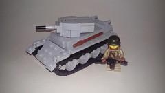 Lego Bt-7 (LOGICALbrick) Tags: world war tank lego ii ww2 russian bt7