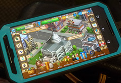 Smart Phone Game Screen Pic 7-25-16 (Photo Nut 2011) Tags: electronics