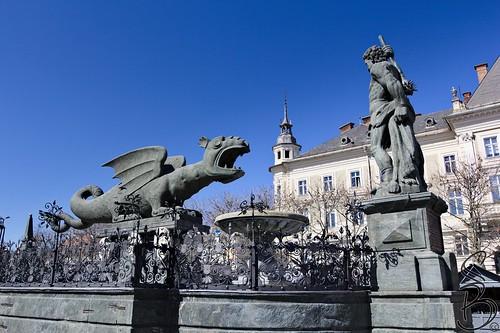 Lindwurm, Klagenfurt, Austria