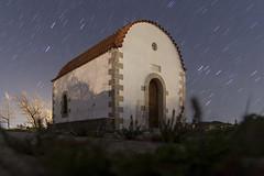 The little church on the hill... (Theophilos) Tags: church night stars hill crete rethymno νύχτα εκκλησία κρήτη charkia αστέρια ρέθυμνο λόφοσ χάρκια