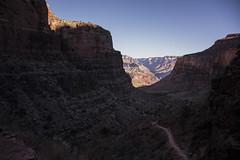 playing below the rim (Vitorio Benedetti) Tags: arizona usa hiking grandcanyon trail backcountry wildwest brightangeltrail d7100 vbenedetti