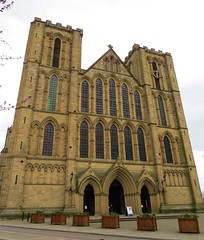 Ripon Cathedral (tom_2014) Tags: old city uk travel england building church architecture facade ancient cathedral britain yorkshire landmark medieval minster oldtown northyorkshire saxon ripon northernengland religiousarchitecture medievalarchitecture riponcathedral