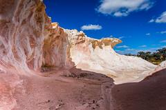 Buckleys Breakaway - A Painted Desert (Philip Schubert IMAGES) Tags: rock landscape rocks desert painted au wave australia erosion granite westernaustralia breakaway hyden buckleys pingaring monadanocks