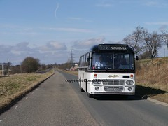 KL2466 SCS335M nr Lesmahagow 6th April 2015 (Rightgoodmotor) Tags: bus scotland scottish leopard western ay alexander smt leyland gvvt scs335m kl2466