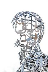 Numbers, Letters & Symbols_4039 (adp777) Tags: letters symbols juameplensa numberssymbolsletters wavesiii davidsoncollegesculpture