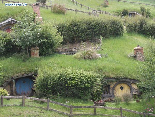 1(Khung cảnh xanh mát của ngôi làng)