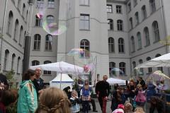 Seifenblasenfabrik Bubblebo Seifenblasenshow beim Tag der offenen Tür im Bundesministerium für Landwirtschaft 17