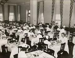 Central Nurses' Residence Cafeteria In 1939 (CityOfDave) Tags: nyc newyorkcity newyork cafeteria rooseveltisland 1939 19391940 welfareisland centralnursesresidence