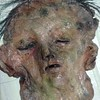 Skin decoration (Sadomina) Tags: face flesh dead mask decay macabre corpse necrophilia morbide