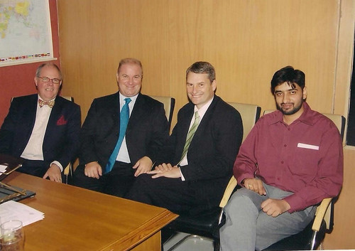 Director Mr. G.S.Kang with representatives from New Zealand at the launch of New Zealand Scholarship test