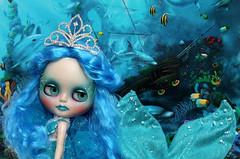 Custom caracterizada Mermaid