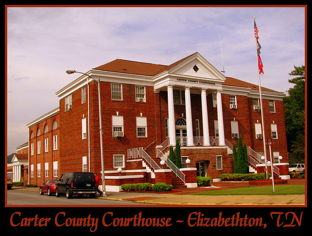 For Sale: TN Courthouse Postcard Collection: Carter