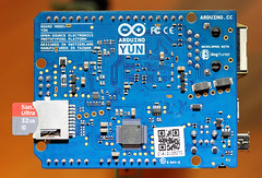 Arduino Yun - for Macro Mondays! (RiverCrouchWalker) Tags: technology microcomputer arduino macromondays arduinoyun