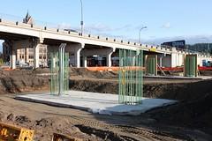 (MN transfer) Tags: new bridge minnesota project river construction highway crossing engineering mississippiriver build winona span interstatebridge may2015