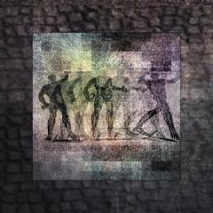 0140411(150)aw (SOPHOCO -santaorosia photographic collectivity-) Tags: roma textura mosaico ostia gladiador tesela