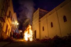 Fiesta de San Anton (anya friedrich) Tags: fire log san andalucia anton 16 malaga febrero nerja maro
