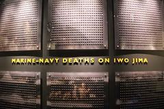 Iwo Jima Memorial - National Museum of the Marine Corps (osubuckialum) Tags: heritage history virginia memorial display navy pins exhibit va marines marinecorps iwojima quantico deaths 2016 nationalmuseumofthemarinecorps