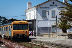 IMG_0160 (pedroascodor) Tags: station train nazare estao caminhodeferro valadodefrades