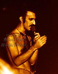 Michael Conen - [PROOF] Frank Zappa closeup [Frank Zappa - Louisville Gardens, Louisville KY 11-10-77] (michael conen) Tags: kentucky louisville canonae1 1977 allrightsreserved frankzappa louisvillegardens michaelconen copyright2013