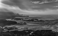 Rime of the Ancient Mariner (BlueberryAsh) Tags: ocean longexposure blackandwhite seascape beach monochrome weather fog nikon waves australia cliffs waterfalls phillipisland storms ndfilter nikon24120 i breathtakinglandscapes australianseascape cloudsstormssunsetssunrises nikond750