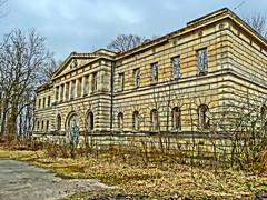 Marstall Dwasieden (Manuela Vierke) Tags: germany deutschland town insel ruine stadt architektur rgen isle mrz hdr mecklenburgvorpommern 2016 sassnitz marstall lostplace meckpomm sasnitz dwasieden
