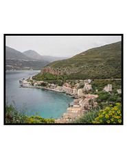 limeni (John Grivas) Tags: sea mountain water pen outdoor olympus vilage m43