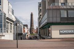 City view Borkum (BlossomField) Tags: lighthouse deutschland deu streetview borkum niedersachsen